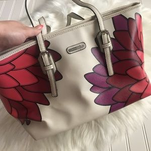 Dana Buchman Lotus Floral Keep All Tote